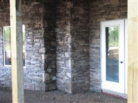 rock applied to home in Barrhead
