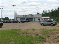 This is the Koch Ford building in Athabasca