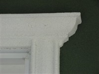 stucco detail
